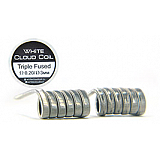 Комплект спиралей WHITE CLOUD Triple Fused Clapton (3x0.4+0.1мм), 2 штуки