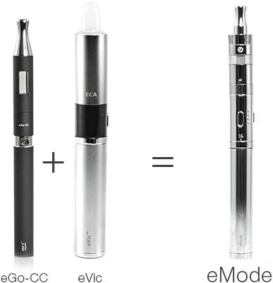 eGo-CC+eVic=Joye eMode