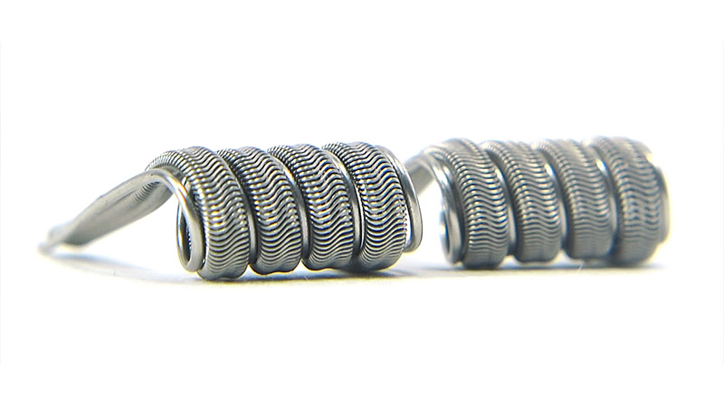 Комплект спиралей WHITE CLOUD Parallel Alien Fused Clapton (3x0.5+0.15мм|+0,5), 2 штуки